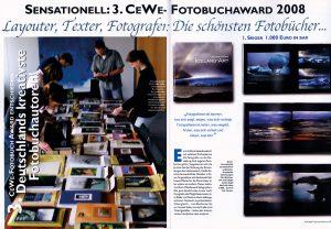 2008 CEWE Fotobuchaward Fotoheft