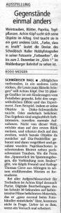 Haller Tagblatt und Hohenloher Tagblatt, 11/2000
