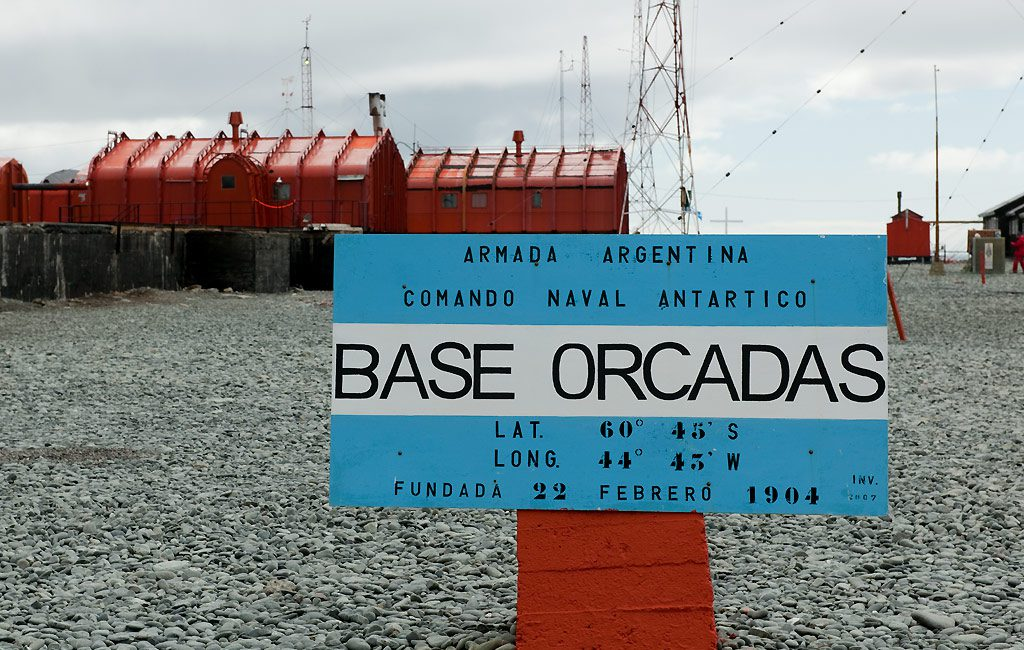 South Orkneys, Orcadas Base